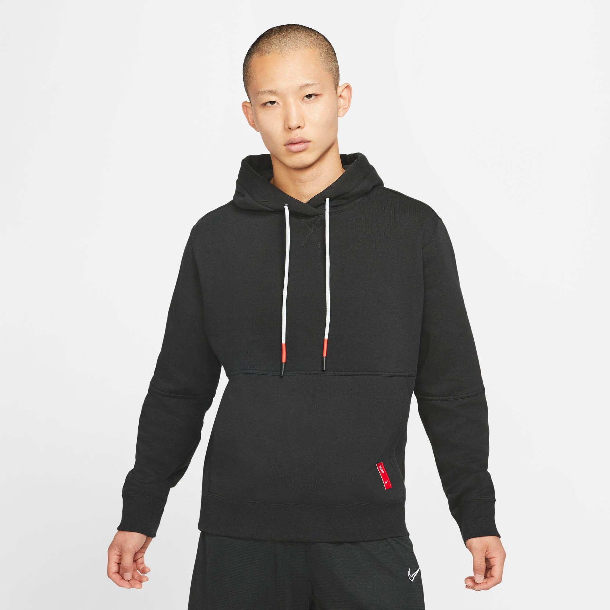 Nike Kyrie Basketball Go-To Pullover Hoody - Black/Chile Red NK-CK6745-010