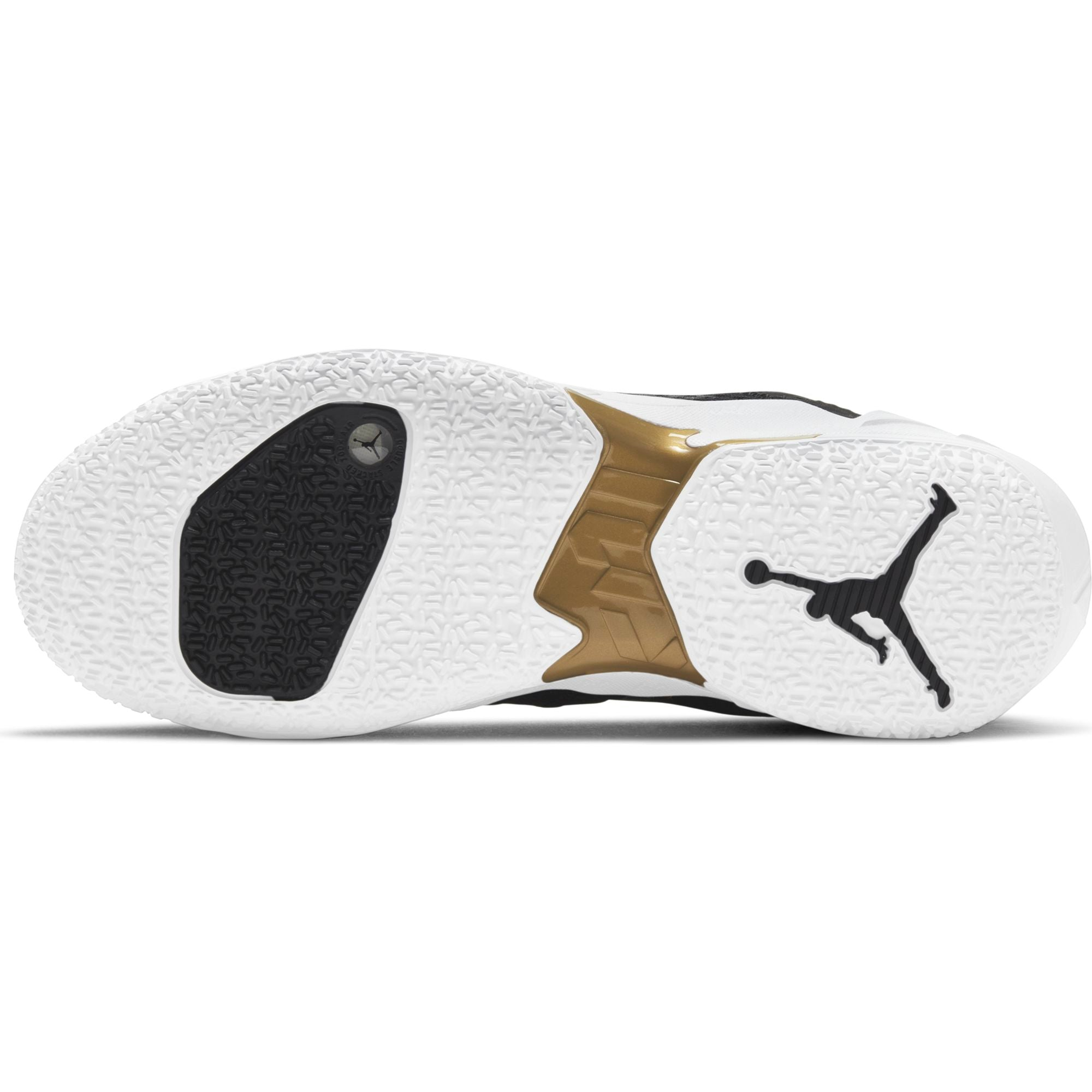 "Nike Jordan Basketball Why Not Zer0.4 ""Family"" Boot/Shoe - Black/White/Metallic Gold NK-CQ4230-001"