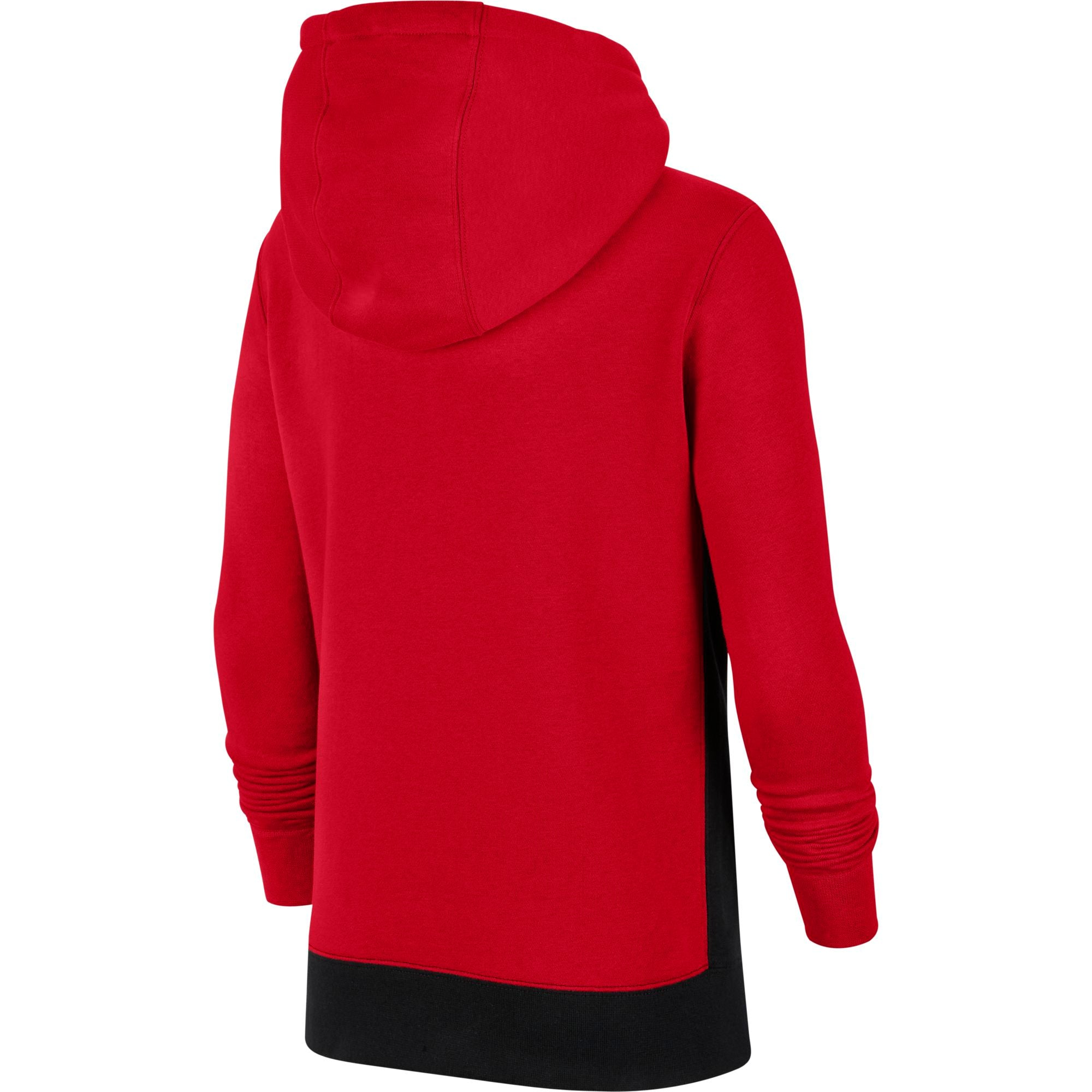 Nike Kids Sportswear Club 1/2 Zip Hoodie - University Red/Black/White NK-CQ4297-657