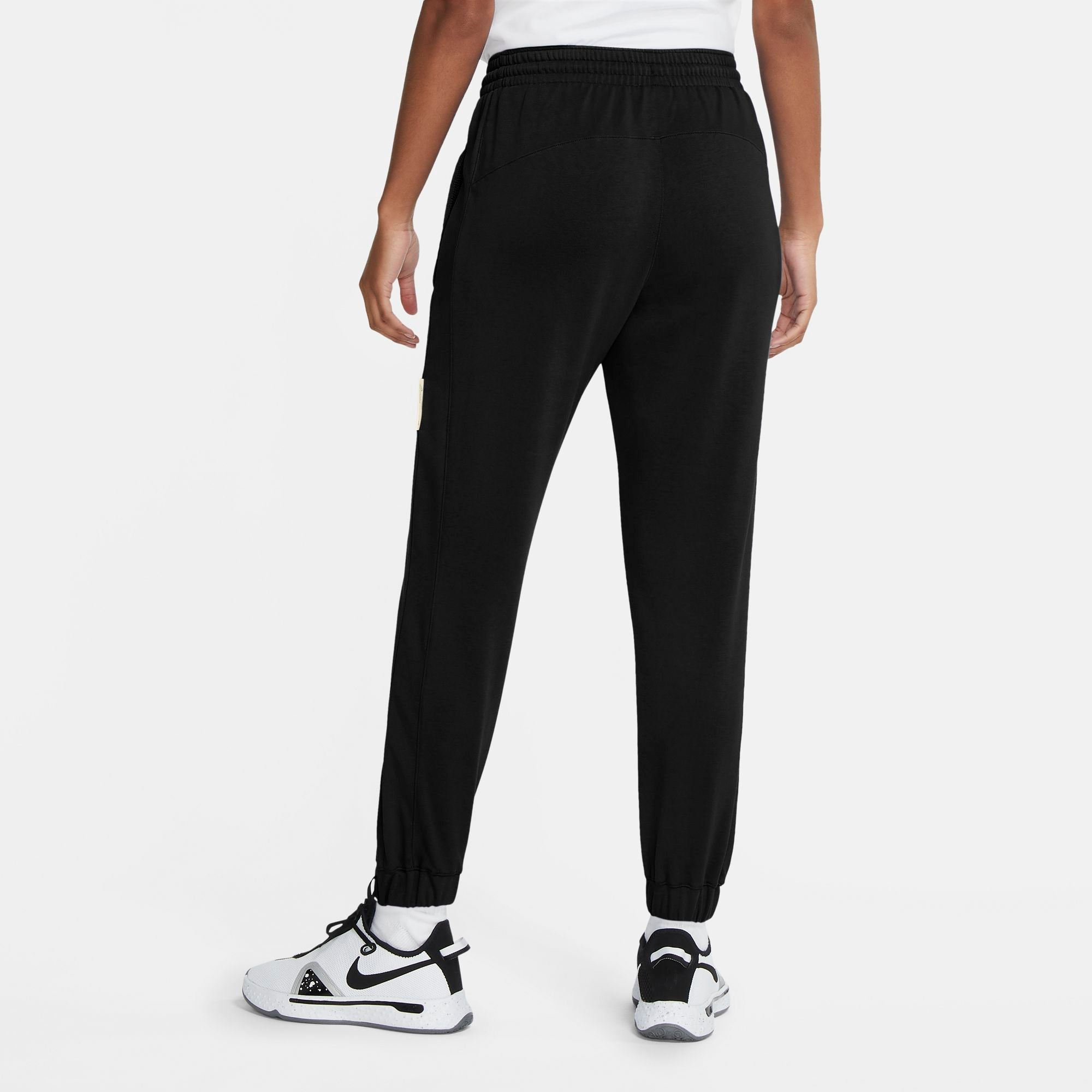 Nike Womens Basketball Standard Issue Pants - Black/Pale Ivory NK-CU3482-010