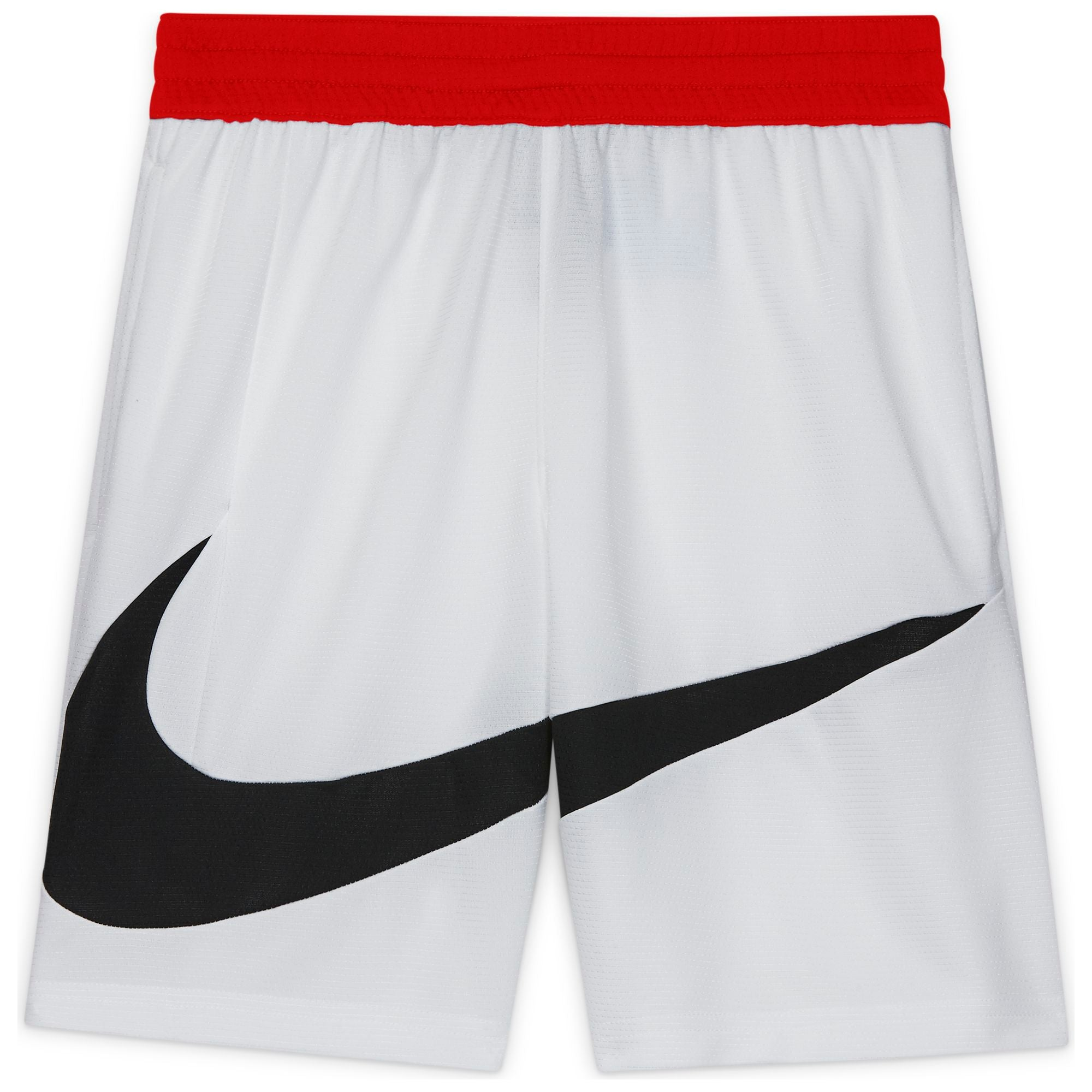 Nike Kids Basketball Dri-fit Shorts - White/University Red/Black NK-DA0161-100