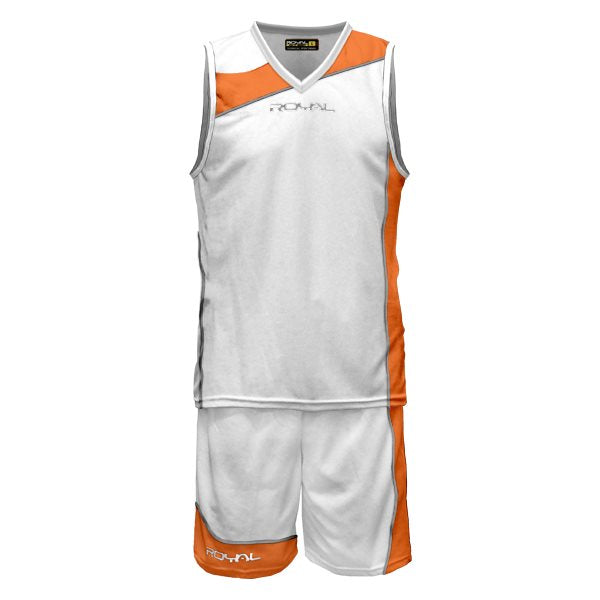 Teamwear - Royal Sport Megres Kit - White/Orange - RS-CBMEGRES-030116