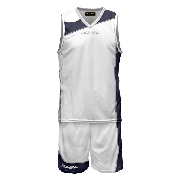 Teamwear - Royal Sport Megres Kit - White/Navy Blue - RS-CBMEGRES-030416