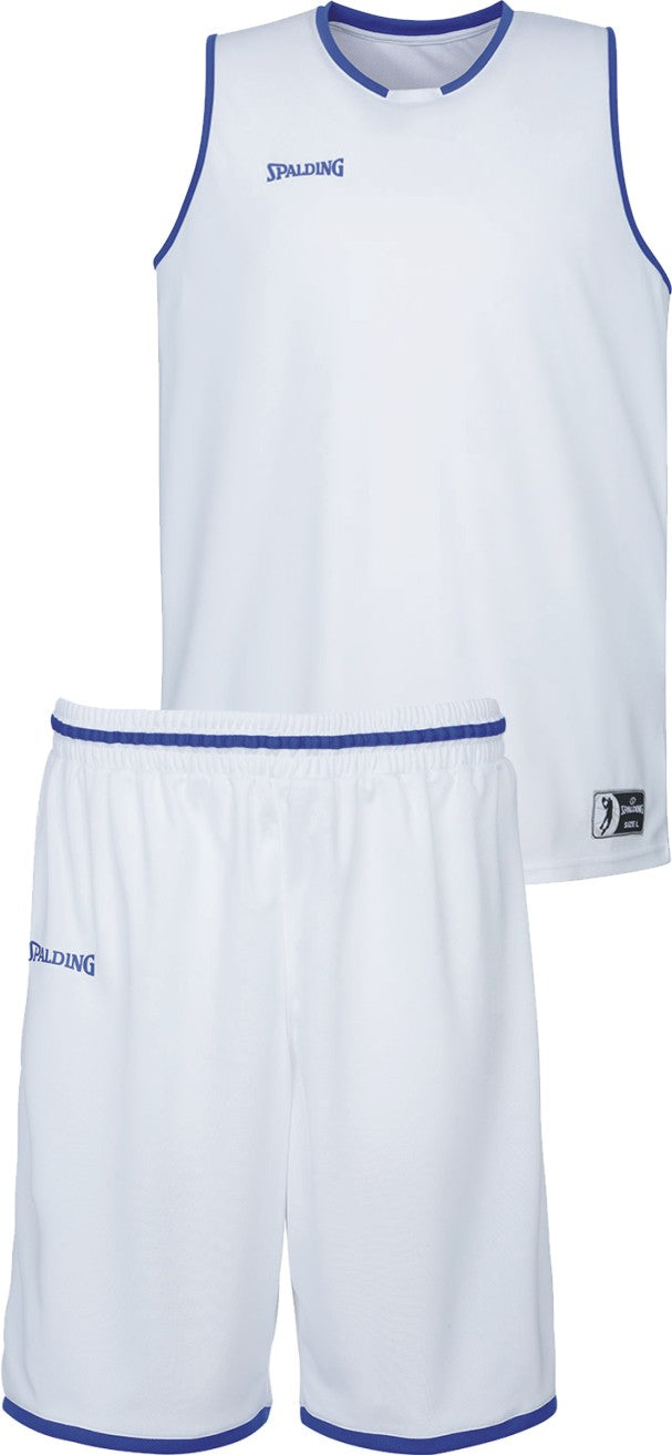 Teamwear - Spalding Kids' Move Kits - White/Royal Blue - SP-3002140-04-3005140-04