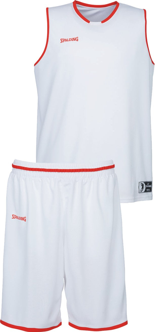 Teamwear - Spalding Kids' Move Kits - White/Red - SP-3002140-06-3005140-06