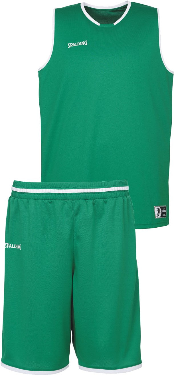 Teamwear - Spalding Kids' Move Kits - Lagoon Green/White - SP-3002140-07-3005140-07
