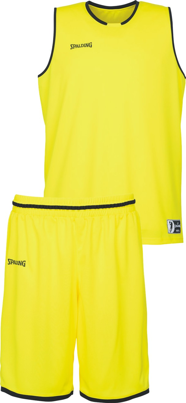 Teamwear - Spalding Kids' Move Kits - Lime Yellow/Black - SP-3002140-08-3005140-08