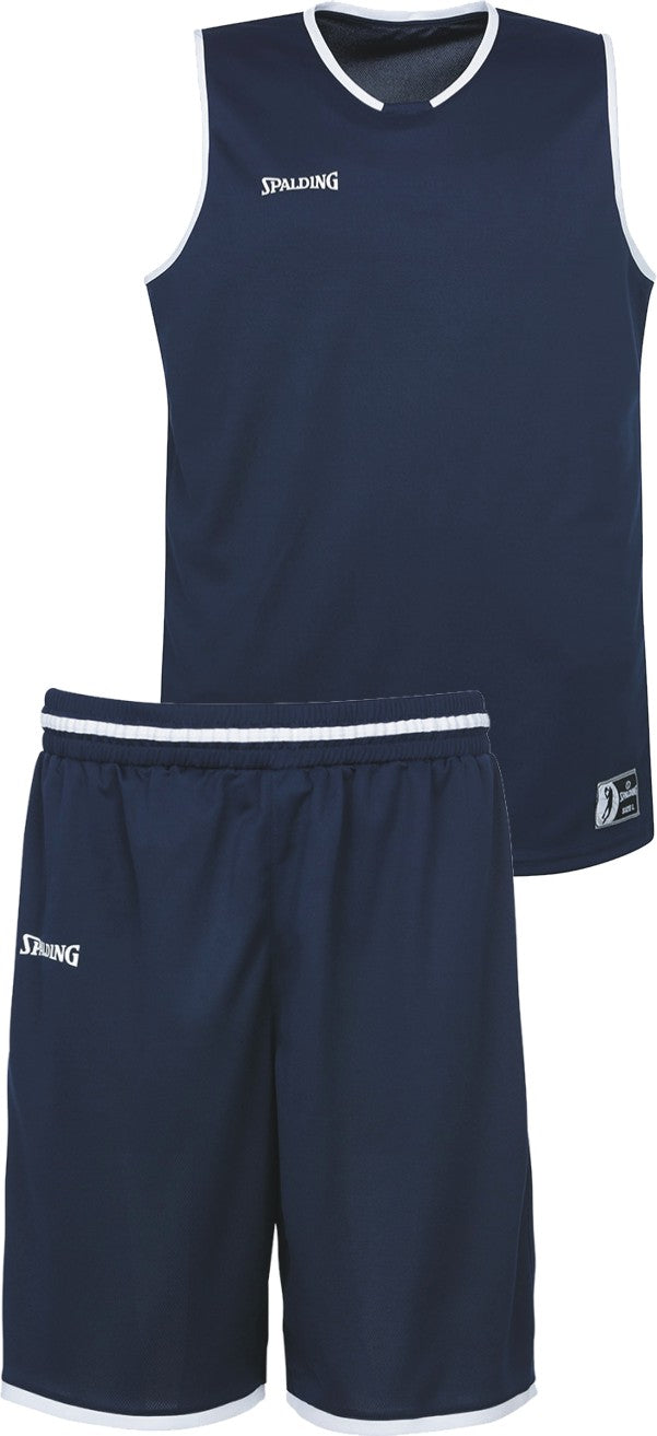 Teamwear - Spalding Kids' Move Kits - Navy Blue/White - SP-3002140-11-3005140-11