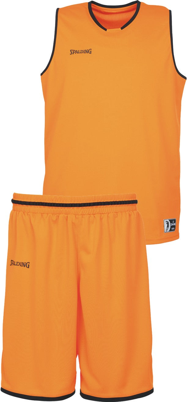Teamwear - Spalding Kids' Move Kits - Orange/Black - SP-3002140-12-3005140-12