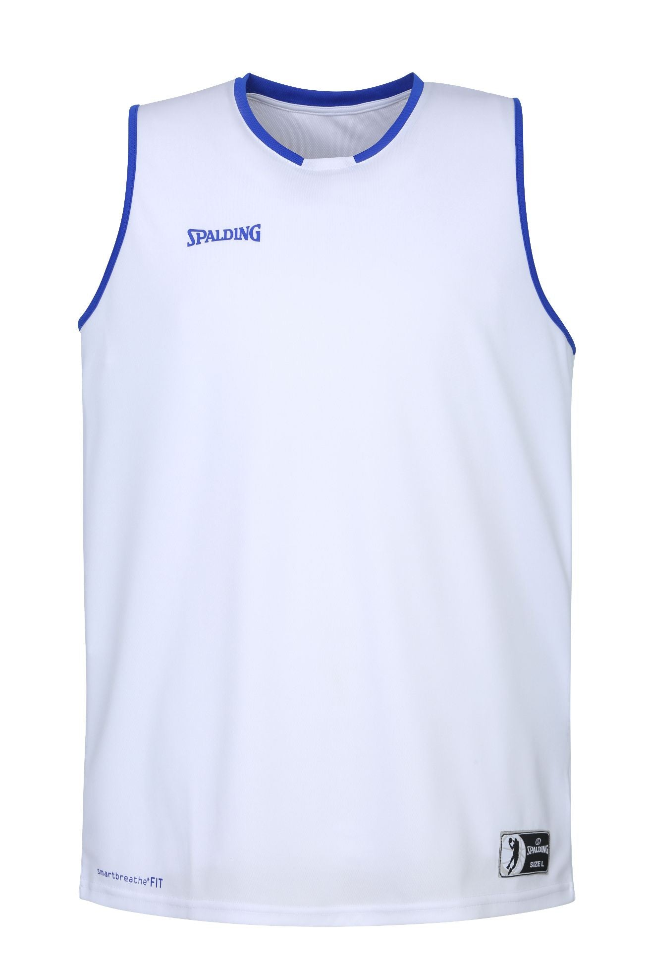 Teamwear - Spalding Kids' Move Jerseys - White/Royal Blue - SP-3002140-04