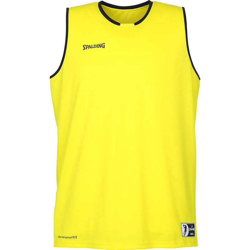 Teamwear - Spalding Kids' Move Jerseys - Lime Yellow/Black - SP-3002140-08
