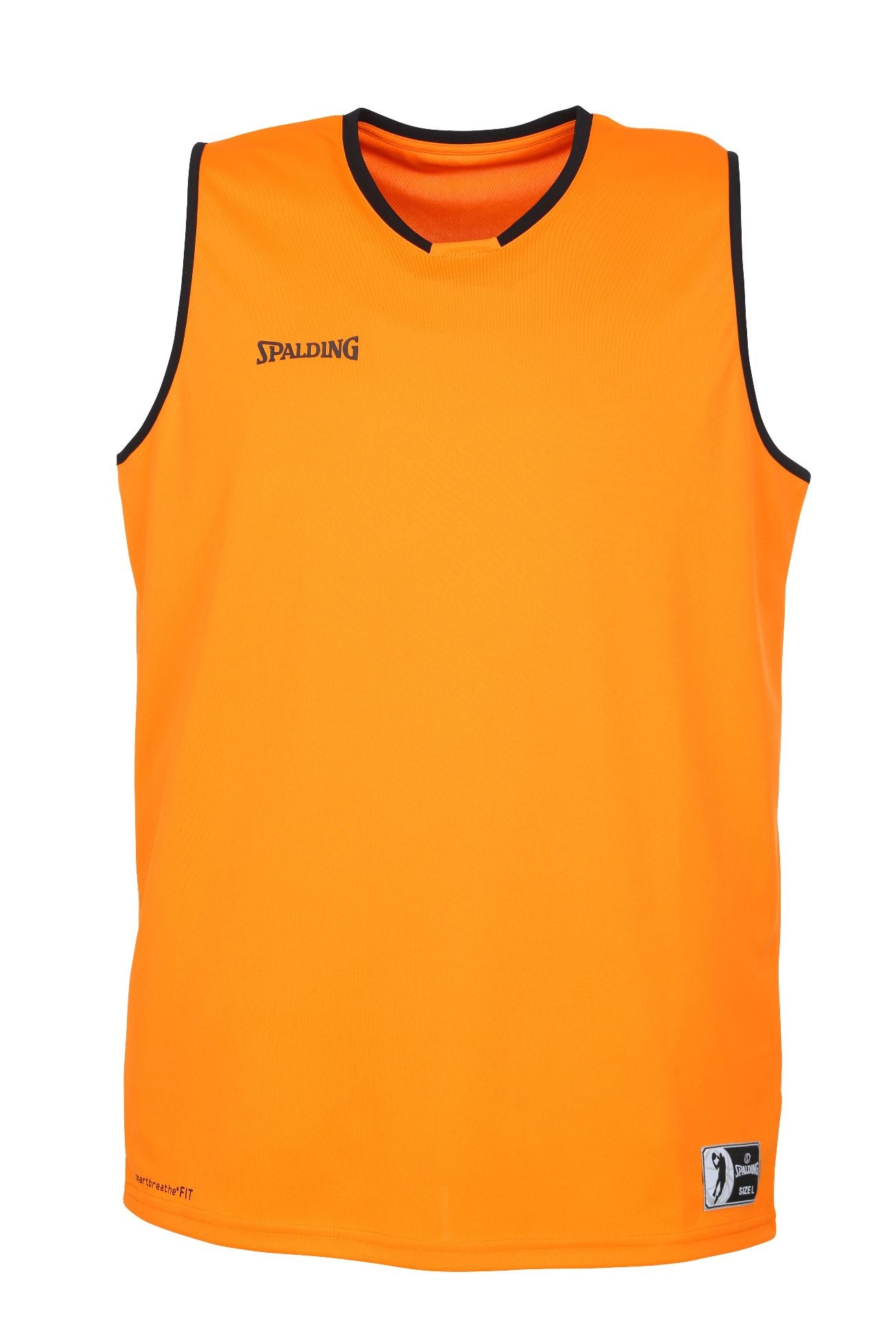 Teamwear - Spalding Kids' Move Jerseys - Orange/Black - SP-3002140-12