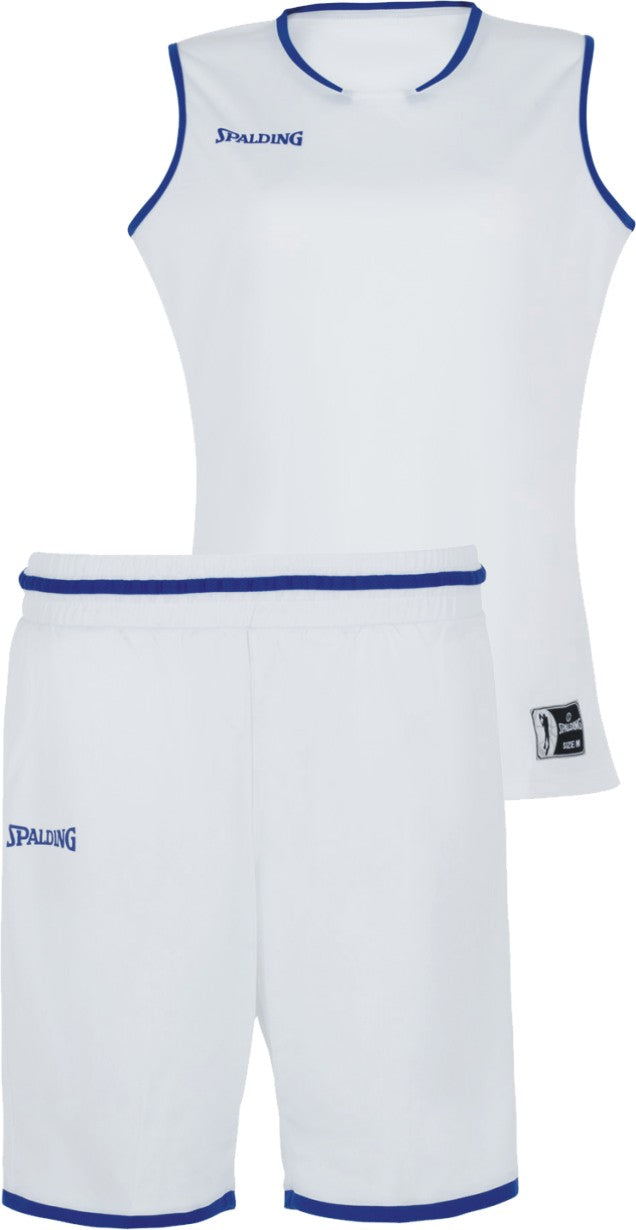 Teamwear - Spalding Women's Move Kits - White/Royal Blue - SP-3002145-04-3005145-04