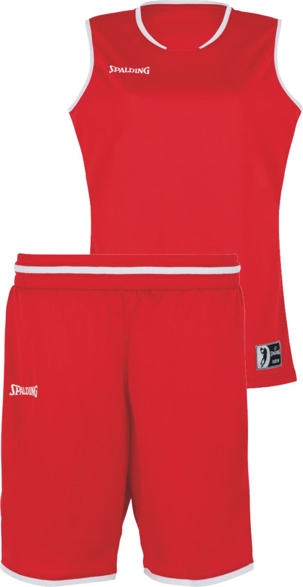 Teamwear - Spalding Women's Move Kits - Red/White - SP-3002145-05-3005145-05