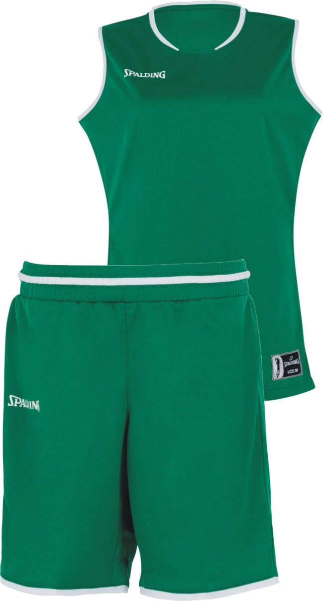 Teamwear - Spalding Women's Move Kits - Lagoon Green/White - SP-3002145-07-3005145-07