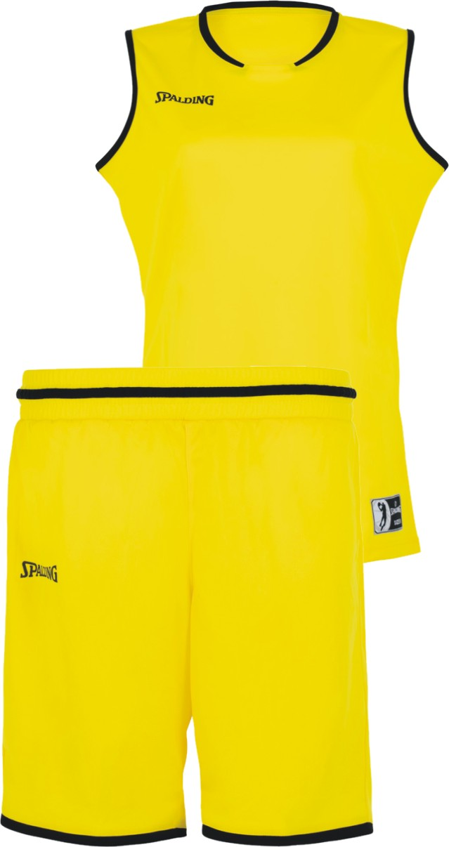 Teamwear - Spalding Women's Move Kits - Lime Yellow/Black - SP-3002145-08-3005145-08