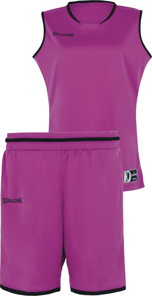Teamwear - Spalding Women's Move Kits - Plum Pink/Purple/Black - SP-3002145-11-3005145-11