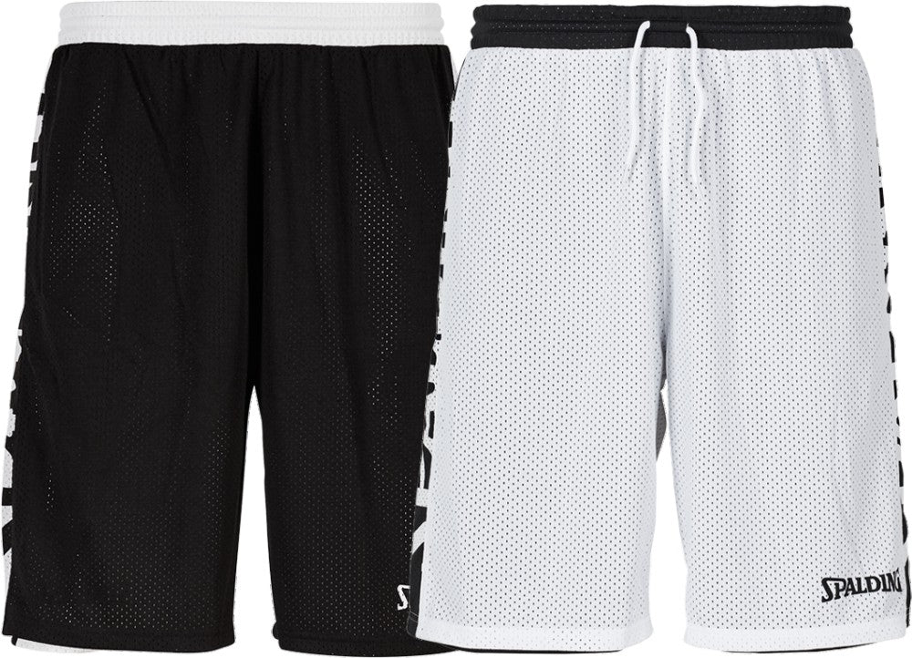 Teamwear - Spalding Essential Reversible Shorts (v2019) - Black/White - SP-3005025-01