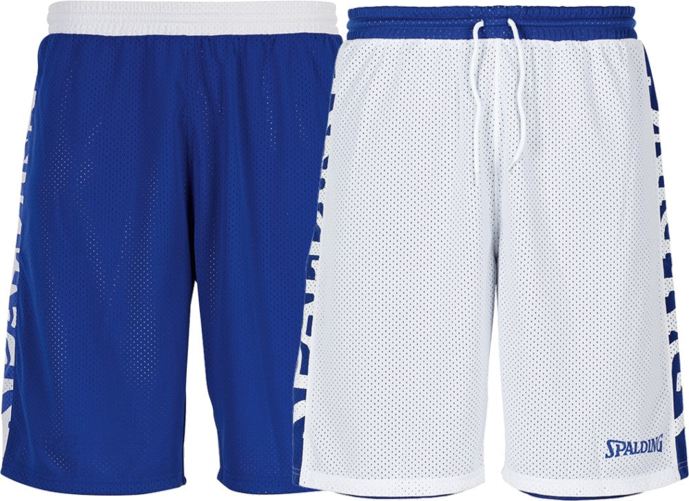 Teamwear - Spalding Essential Reversible Shorts (v2019) - Royal Blue/White - SP-3005025-02