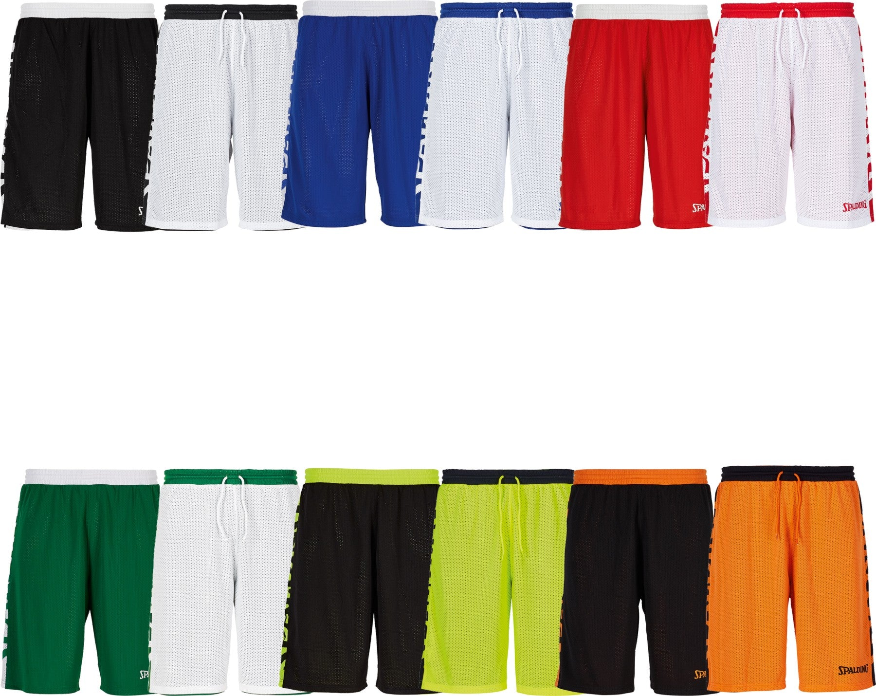 Teamwear - Spalding Essential Reversible Shorts (v2019)