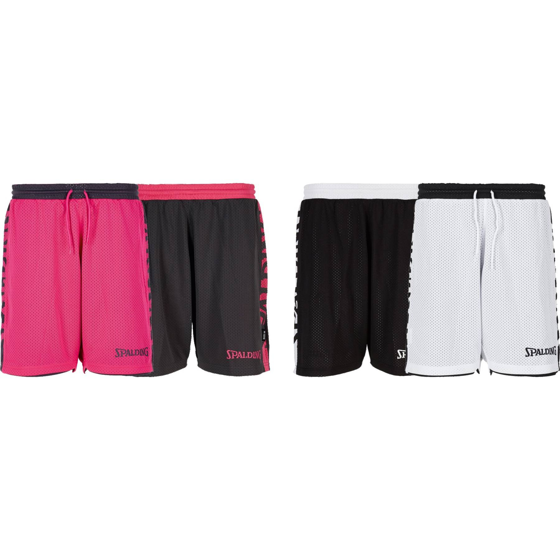 Teamwear - Spalding Women's Essential Reversible Shorts (v2019)