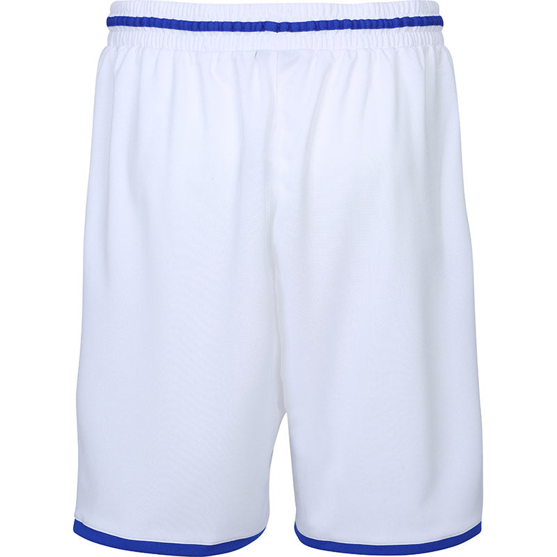 Teamwear - Spalding Men's Move Shorts - White/Royal Blue - SP-3002140-04-3005140-04