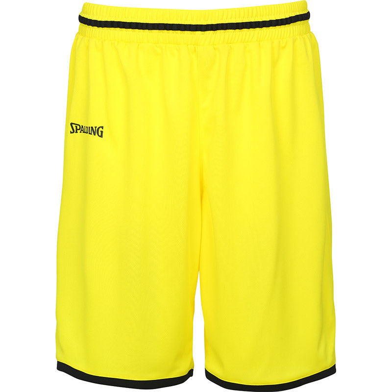 Teamwear - Spalding Men's Move Shorts - Lime Yellow/Black - SP-3002140-08-3005140-08