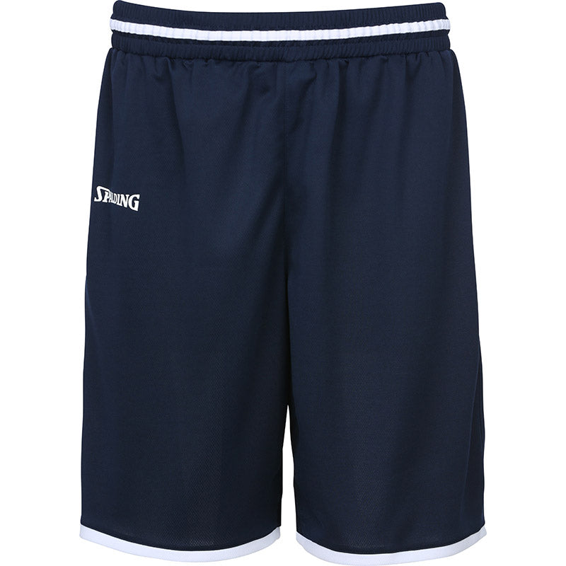 Teamwear - Spalding Men's Move Shorts - Navy Blue/White - SP-3002140-11-3005140-11