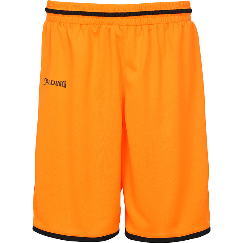 Teamwear - Spalding Men's Move Shorts - Orange/Black - SP-3002140-12-3005140-12