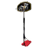 Sure Shot 556 Hotshot Portable Basketball Hoop with Coloured Backboard and Pole Padding