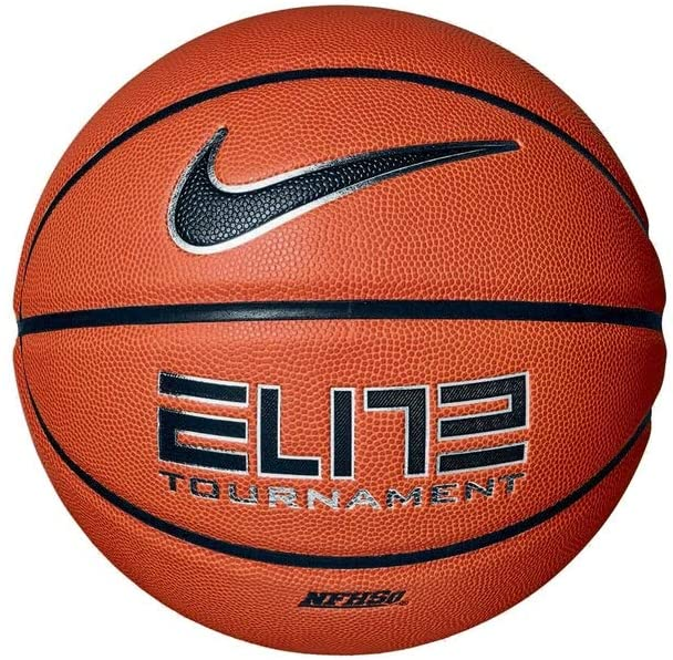 Nike Elite Tournament 8-Panel Basketball - Amber/Black -7 (Mens)