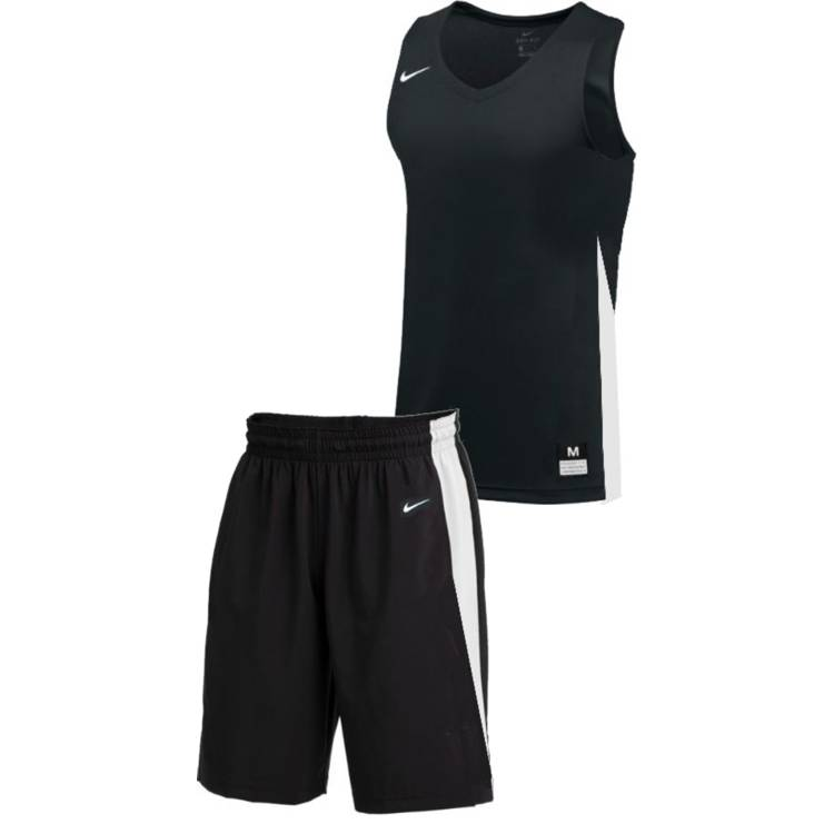 Teamwear - Nike Women's Team Basketball Stock Kit - Black/White - NK-NT0211-010-NT0212-White