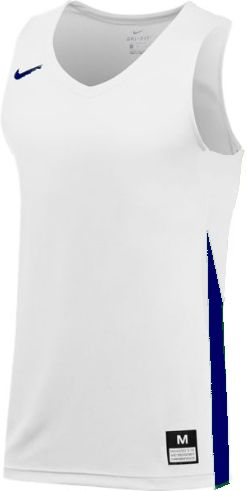 Teamwear - Nike Women's Team Basketball Stock Jersey - White/Royal Blue - NK-NT0211-102