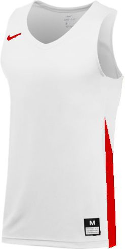 Teamwear - Nike Team Basketball Stock Jersey - White/University Red - NK-NT0199-103