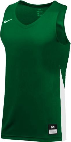 Teamwear - Nike Women's Team Basketball Stock Jersey - Pine Green/White - NK-NT0211-302