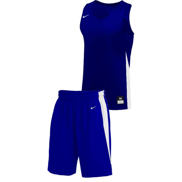 Teamwear - Nike Kids/Youth Team Basketball Stock Kit - Royal Blue/White - NK-NT0200-463-NT0202-White