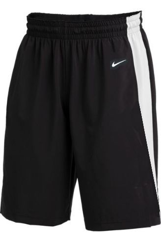 Teamwear - Nike Kids/Youth Team Basketball Stock Shorts - Black/White - NK-NT0202-010