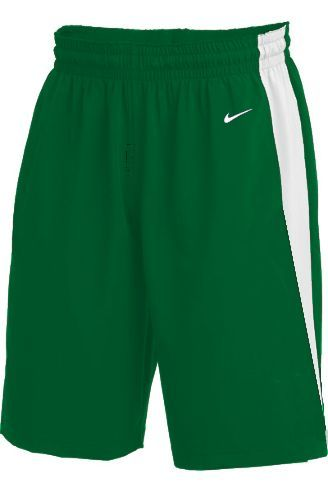 Teamwear - Nike Kids/Youth Team Basketball Stock Shorts - Pine Green/White - NK-NT0202-302