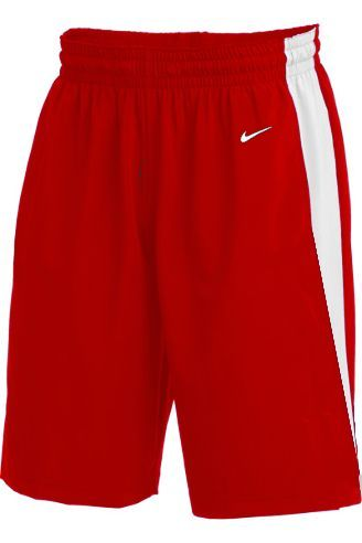 Teamwear - Nike Kids/Youth Team Basketball Stock Shorts - University Red/White - NK-NT0202-657