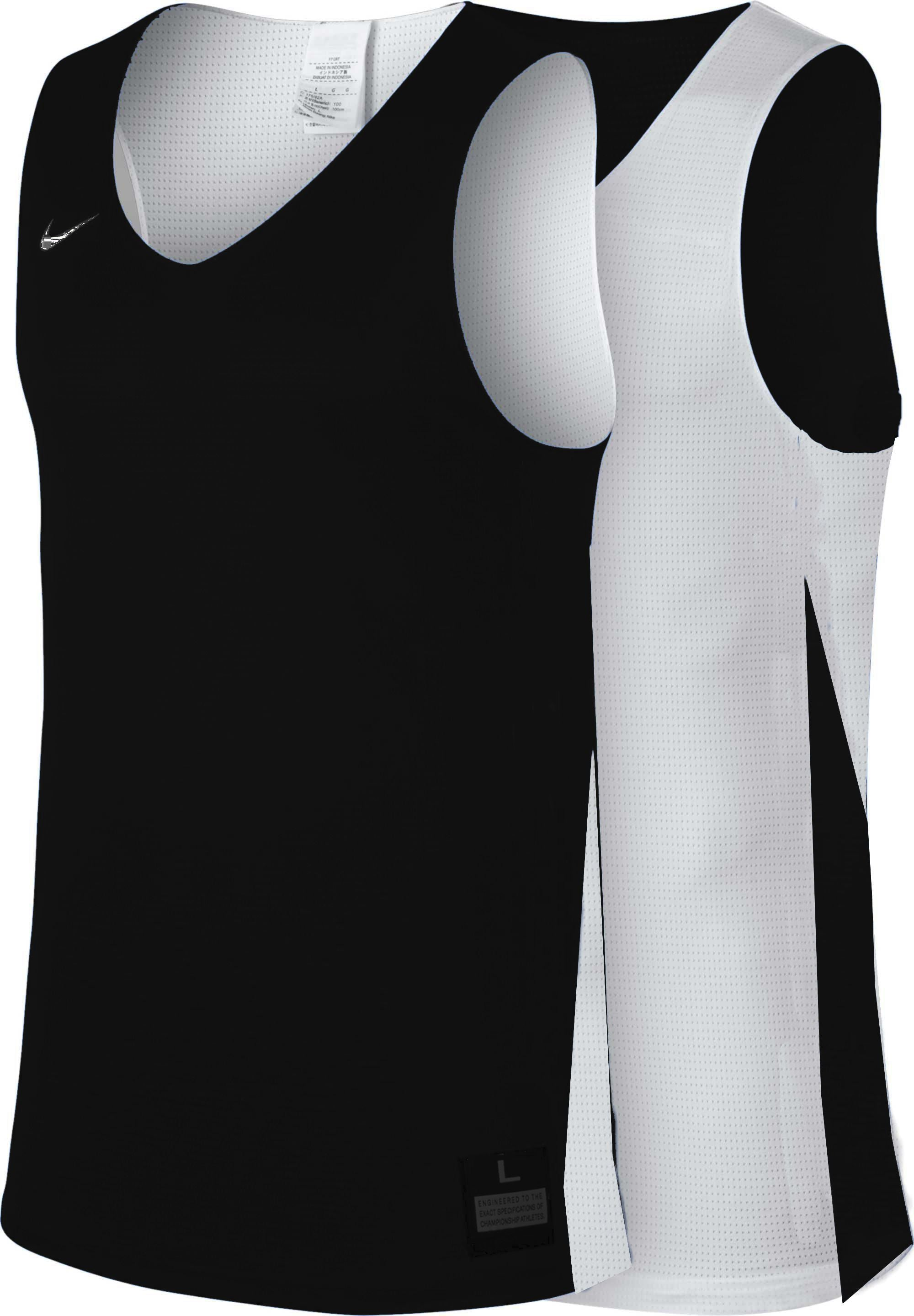 Teamwear - Nike Women's Team Basketball Reversible Jersey - Black/White - NK-NT0213-010
