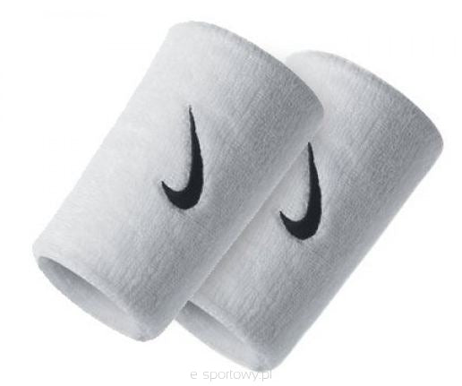 Nike Multi-Pack Double Wide Wristbands - White/(Black)-One Size AC0010-101