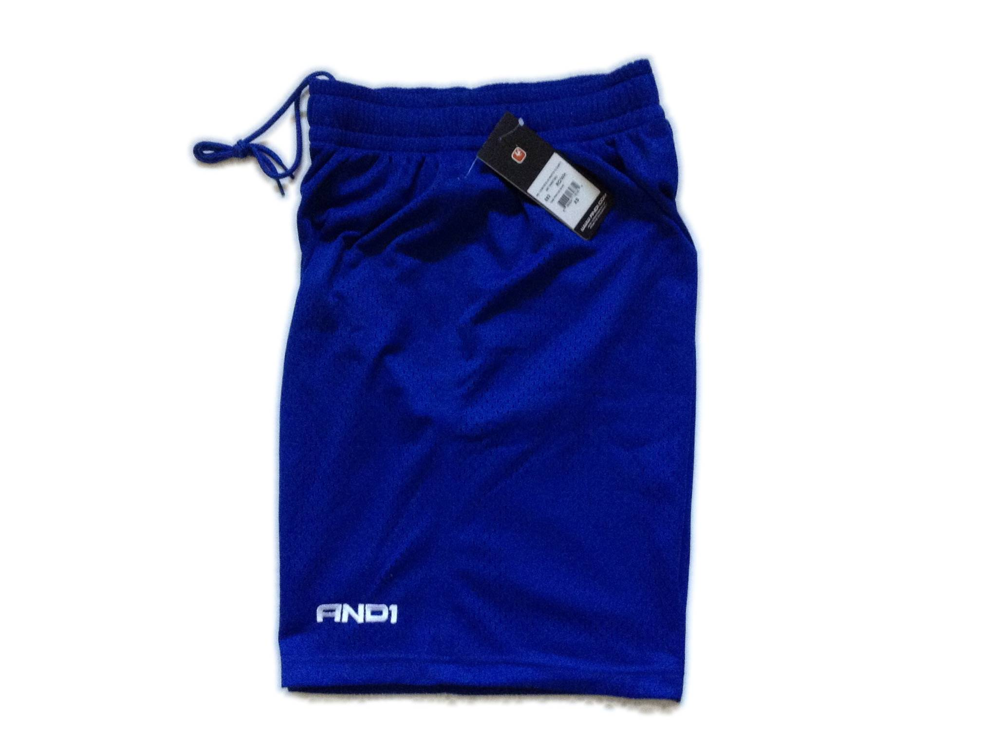 AND1 Basketball Practice Shorts - Royal