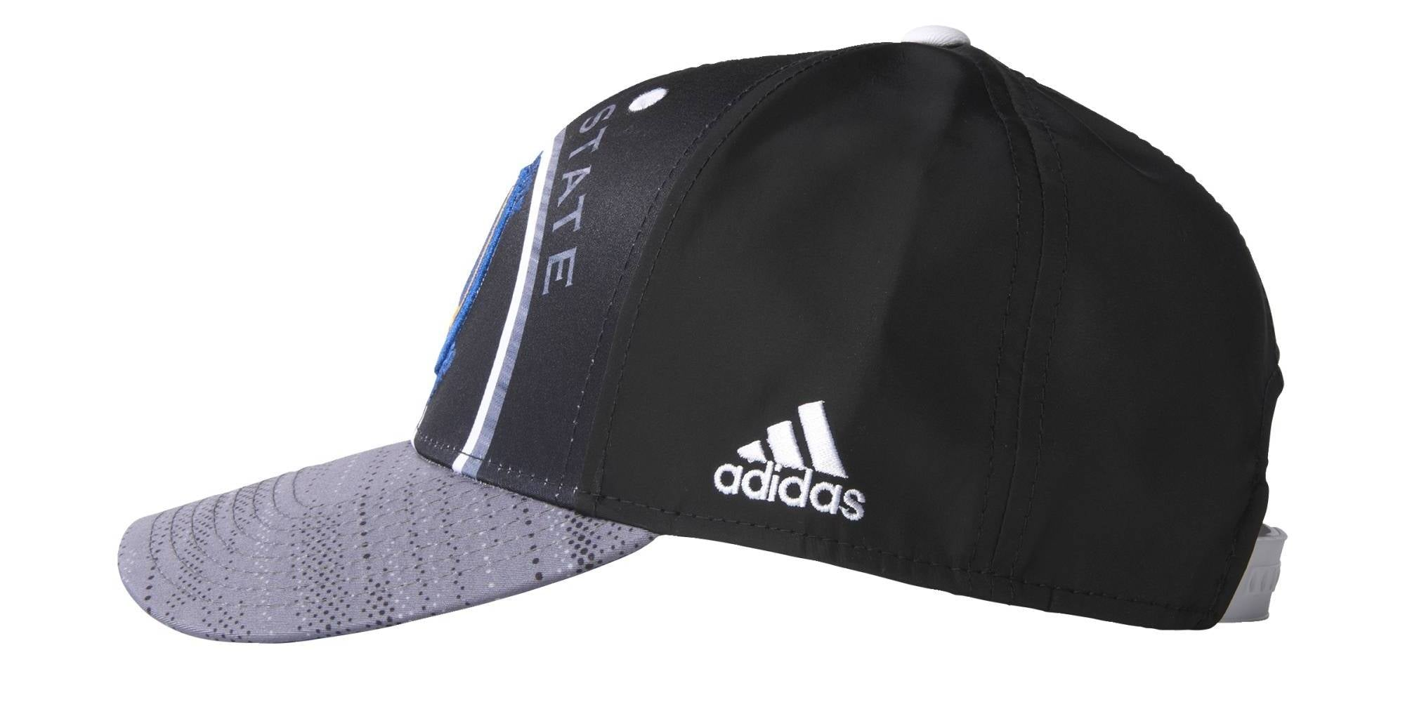 Adidas NBA Golden State Warriors Cap - Black/Blue/Yellow