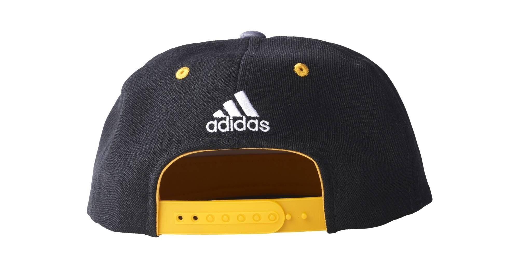 Adidas NBA LA Lakers Flat Peak Cap - Bleck/White/Collegiate Gold