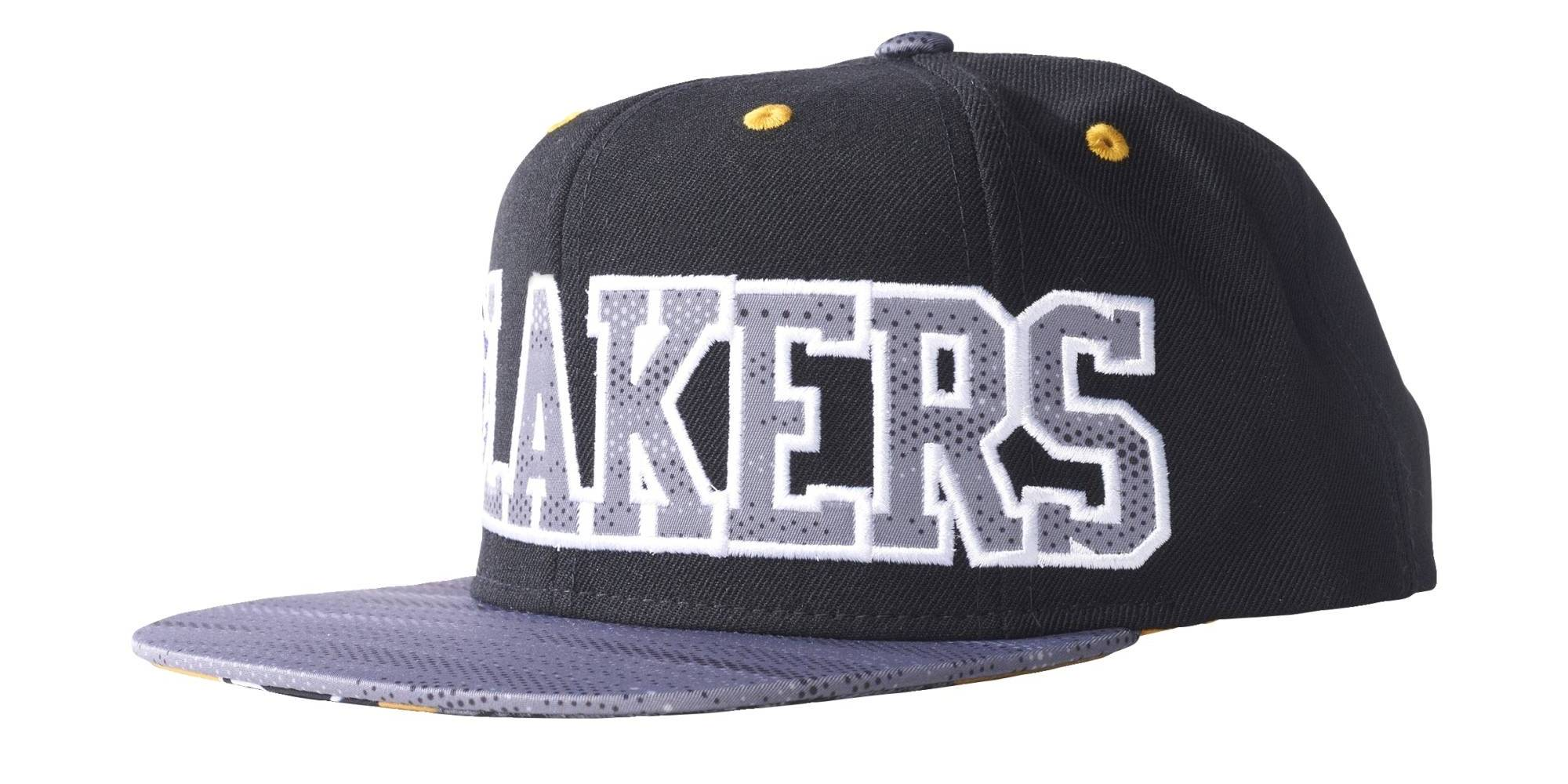 Adidas NBA LA Lakers Flat Peak Cap