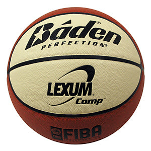 Baden Basketball Lexum Comp/Game Ball with EBL Logo (Indoor)