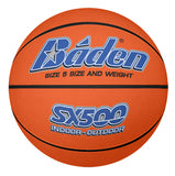 Baden Basketball Indoor / Outdoor SX Series - Tan -5 (Junior)