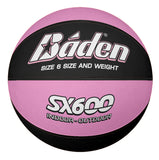 Baden Basketball Indoor / Outdoor SX Series - Pink/Black -6 (Womens/Youth)