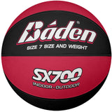 Baden Basketball Indoor / Outdoor SX Series - Red/Black -7 (Mens)