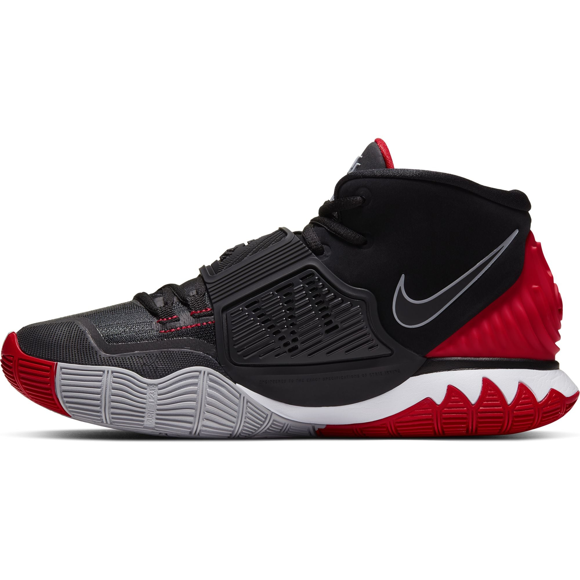 Nike Kyrie 6 Basketball Boot/shoe - Black/White/Red
